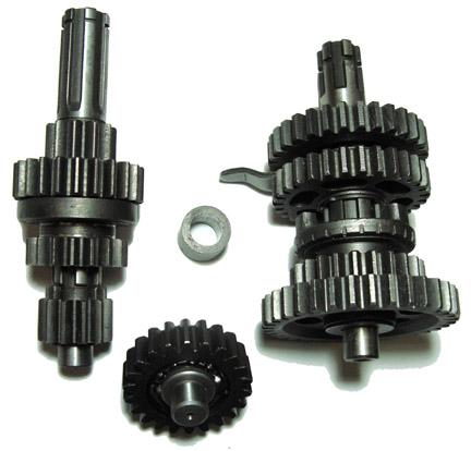 Gear Set Main Shaft / Counter Shaft 3 speed w / reverse