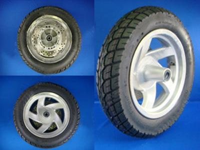 Wheel - (Front) 4.0-1-2 Moped Gator 150T
