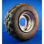 Wheel - 16-8-7 (LF 4 HOLE) SILVER RIM
